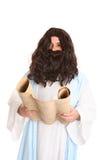 jesus avläsningsscriptures royaltyfri foto