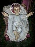 Jesus baby statue Stock Images