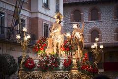 Jesus band kolonnen Arkivbilder