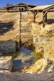 Jesus Baptism Site John Baptist Bethany Beyond Jordan royalty-vrije stock fotografie
