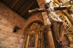 Jesus in Barichara Stock Photography