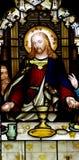 Jesus bij het Laatste Avondmaal Royalty-vrije Stock Foto's