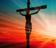 Jesus Blood Sacrifice fotografia de stock royalty free