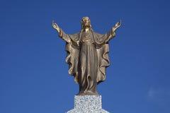 Jesus in Bronze Stock Image