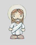 Jesus cartoon b Royalty Free Stock Photos