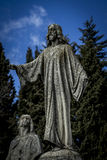 Jesus.Cerro de los Angeles is located in the municipality of Get Royalty Free Stock Images