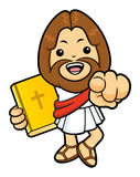 Jesus Character has been directed towards a front. Royalty Free Stock Image