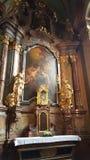 Jesus Child - infante de Praga na igreja de nossa senhora Victorious Fotografia de Stock Royalty Free