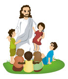 Jesus and Children Royalty Free Stock Photo