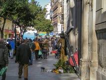 Jesus Christ à Madrid Photos libres de droits