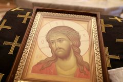 Значок Иисуса Христа стоковая фотография rf