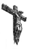 Jesus christ. Drawing of jesus christ crucifixion Royalty Free Stock Photography