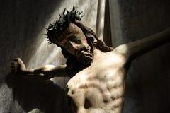 Jesus Christ. Sculpture of crucifixion Jesus Christ Stock Photography