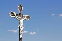 Jesus Christ. On the cross Royalty Free Stock Photo