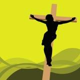 Jesus Christ. Vector illustration of jesus christ Stock Photography
