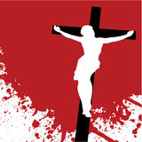 Jesus Christ. Vector illustration of jesus christ Royalty Free Stock Images