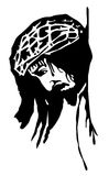 Jesus Christ. A illustration portrait of Jesus Christ Royalty Free Stock Image
