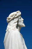 Jesus Christ. A marble memorial monument of Jesus Christ Stock Photos