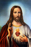 Jesus Christ. An old image of Jesus Christ, from an anonymous author royalty free stock photo