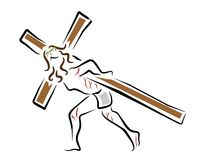 Jesus christ Arkivbild
