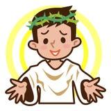 Jesus Christ illustration de vecteur