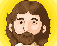 Jesus christ. An illustration of jesus christ Stock Photo