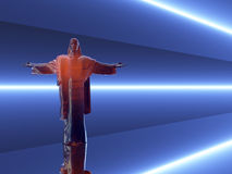 Jesus Christ Abstract Background. Abstract concept of Jesus Christ Royalty Free Stock Photo