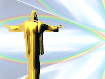 Jesus Christ Abstract. Abstract concept of Jesus Christ Royalty Free Stock Images