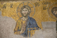 Jesus Christ - ancient mosaic Stock Image