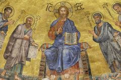 Jesus Christ and the Apostles Royalty Free Stock Photos