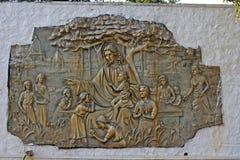Jesus Christ avec enfants Photos libres de droits