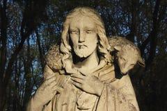 Jesus Christ - bom pastor Imagem de Stock
