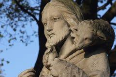 Jesus Christ - bom pastor Imagens de Stock Royalty Free