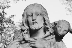 Jesus Christ - bom pastor Fotografia de Stock