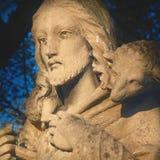 Jesus Christ - bom pastor Fotografia de Stock Royalty Free