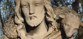 Jesus Christ - bom pastor Foto de Stock Royalty Free