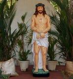 Jesus Christ. Catholic pilgrimage center. Kochi, Kerala, South India Royalty Free Stock Photography