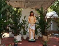 Jesus Christ. Catholic pilgrimage center. Kochi, Kerala, South India Stock Photo