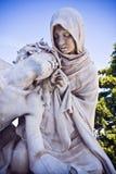 Jesus Christ com mãe fotografia de stock royalty free