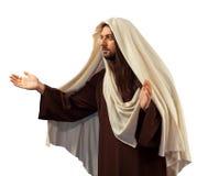 Jesus Christ con a braccia aperte Fotografia Stock