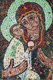 Jesus Christ cristmasmosaik Fotografering för Bildbyråer