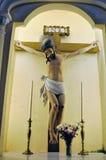 Jesus Christ on a cross Stock Image