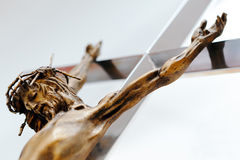 Jesus Christ on the cross Royalty Free Stock Photography