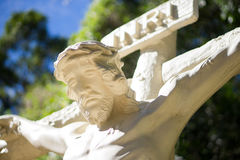 Jesus Christ On The Cross Royalty Free Stock Photos