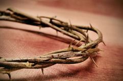 Jesus Christ crown of thorns Royalty Free Stock Image