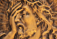 Jesus Christ crown of thorns at Royalty Free Stock Photo