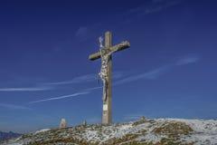 Jesus Christ crucificou, figura particular no metal Foto de Stock Royalty Free