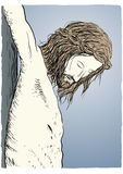 Jesus Christ crucified Stock Photography