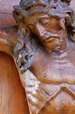 Jesus Christ Crucifix Statue Stock Images