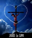 Jesus Christ Crucifixion Stock Photos